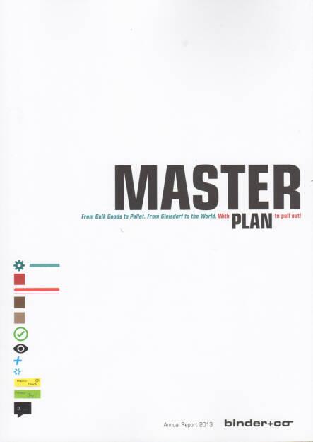 Binder+Co Geschäftsbericht 2013 - http://boerse-social.com/financebooks/show/binderco_geschaftsbericht_2013 (30.03.2015)