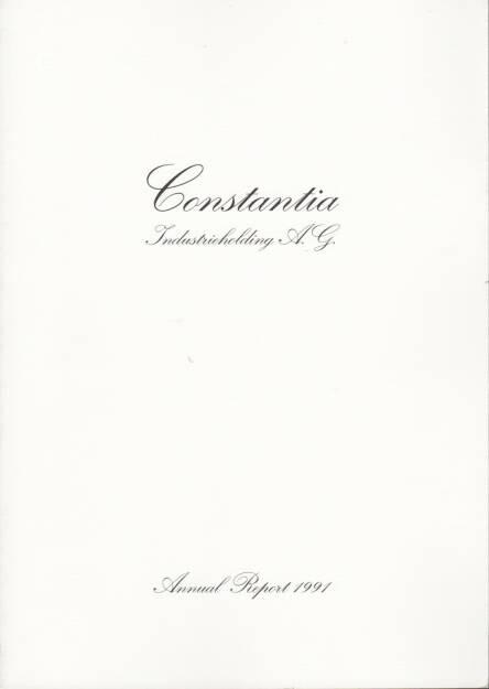 Constantia Industrieholding AG Geschäftsbericht 1991 - http://boerse-social.com/financebooks/show/constantia_industrieholding_ag_geschaftsbericht_1991 (31.03.2015)