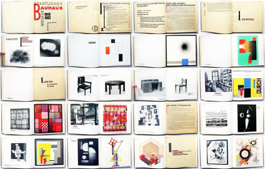 Walter Gropius & Karl Nierendorf - Staatliches Bauhaus Weimar 1919-1923, Bauhausverlag 1923, Beispielseiten, sample spreads - http://josefchladek.com/book/walter_gropius_karl_nierendorf_-_staatliches_bauhaus_weimar_1919-1923, © (c) josefchladek.com (03.04.2015)