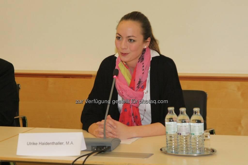 Ulrike Haidenthaller (Aktienforum), © IVA (20.02.2013)