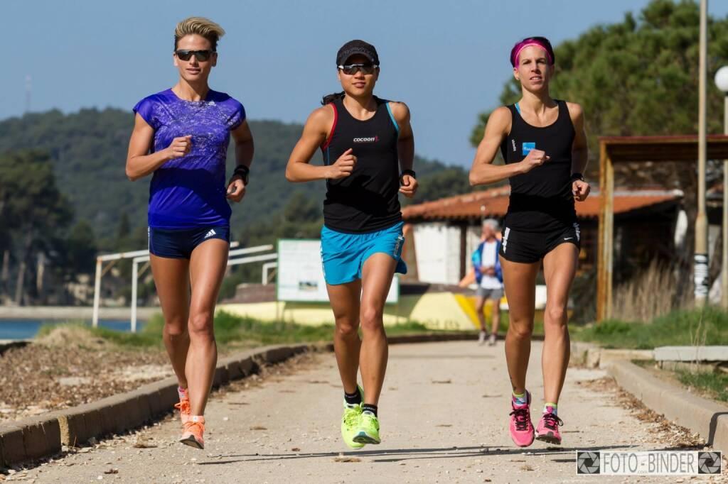Drei: Tristyle Runplugged Runners Morgen  © Foto Binder (05.04.2015)