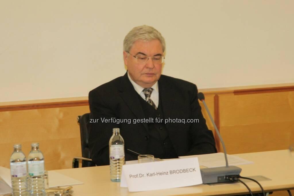 Karl-Heinz Brodbeck, © IVA (20.02.2013)