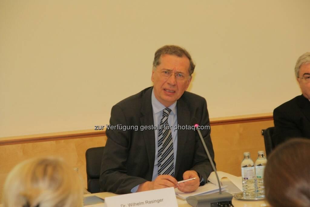 Wilhelm Rasinger, © IVA (20.02.2013)