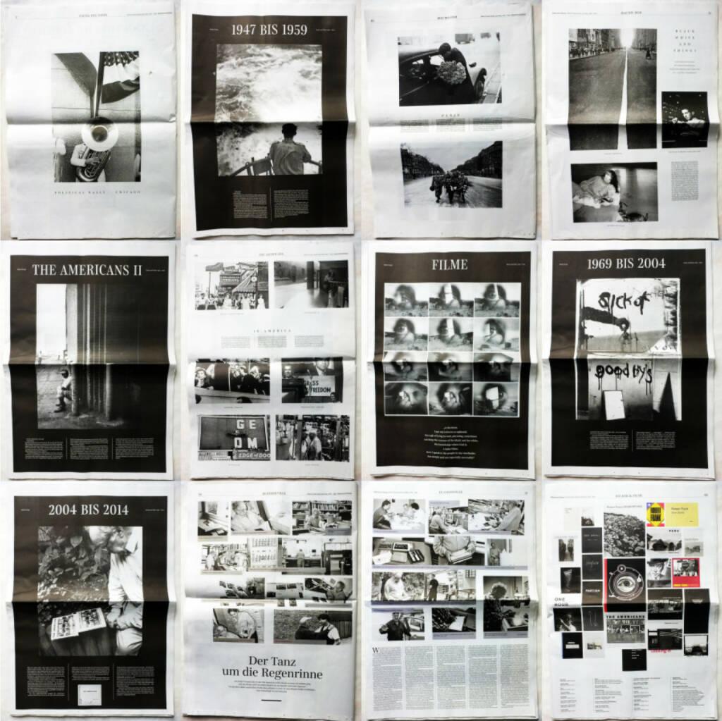 Robert Frank Books and Film, 1947-2014 - Sonderausgabe der Süddeutschen Zeitung, Beispielseiten, sample spreads - http://josefchladek.com/book/robert_frank_books_and_film_1947-2014_-_sonderausgabe_der_suddeutschen_zeitung, © (c) josefchladek.com (08.04.2015)