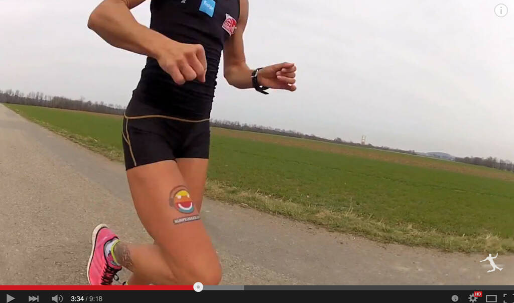 Conny Köpper, Tristyle Runplugged Runners, mit dem Runplugged Tattoo (08.04.2015)