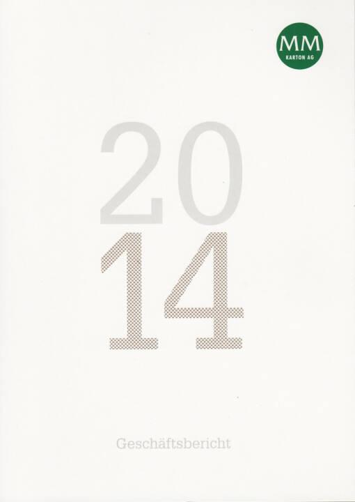 Mayr-Melnhof Karton AG Geschäftsbericht 2014 - http://boerse-social.com/financebooks/show/mayr-melnhof_karton_ag_geschaftsbericht_2014