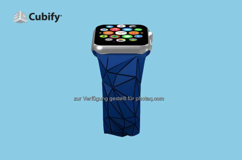 Wear the future on your wrist in more ways than one with the new 3D printed Flex Band for Apple Watch, now available for pre-order: http://bit.ly/1yYFPle   #3dprinting #AppleWatch #wearabletech  Source: http://facebook.com/3dsystemscorp, © Aussender (10.04.2015)