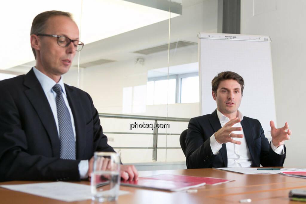 Klaus Malle (Accenture), Peter Auer (Accenture), © photaq/Martina Draper (11.04.2015)