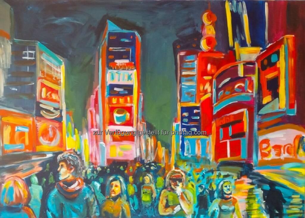 Chris Delias: Österreichischer Künstler Chris Delias bei ArtExpo in New York, © Aussendung (13.04.2015)