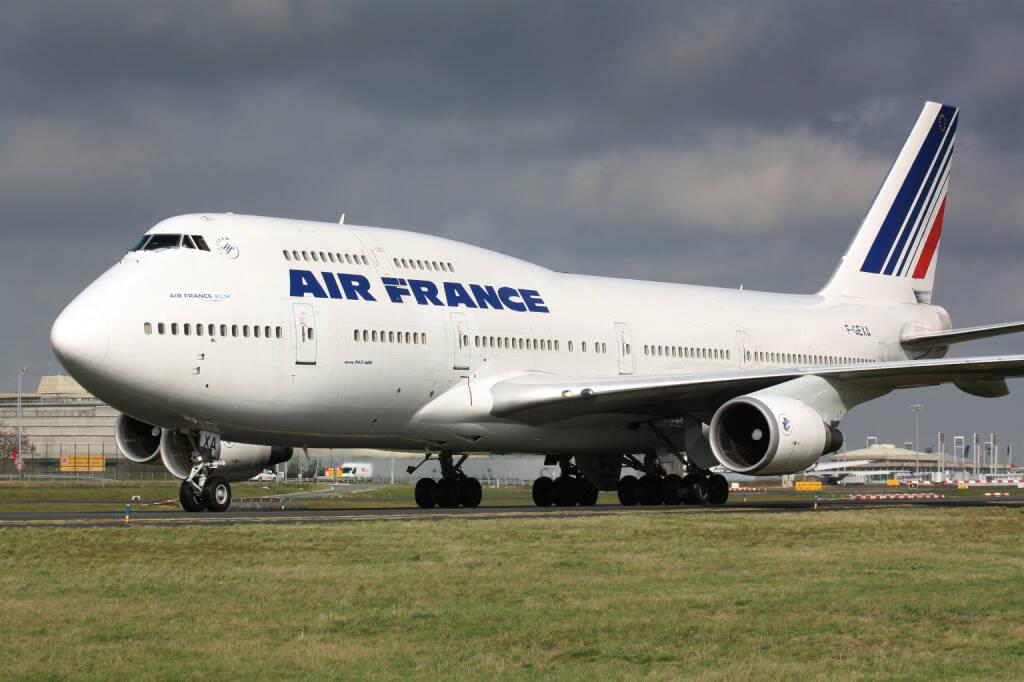 Air France Boeing B747-400 <a href=http://www.shutterstock.com/gallery-1462280p1.html?cr=00&pl=edit-00>Lukas Rebec</a> / <a href=http://www.shutterstock.com/editorial?cr=00&pl=edit-00>Shutterstock.com</a>, © www.shutterstock.com (13.04.2015)