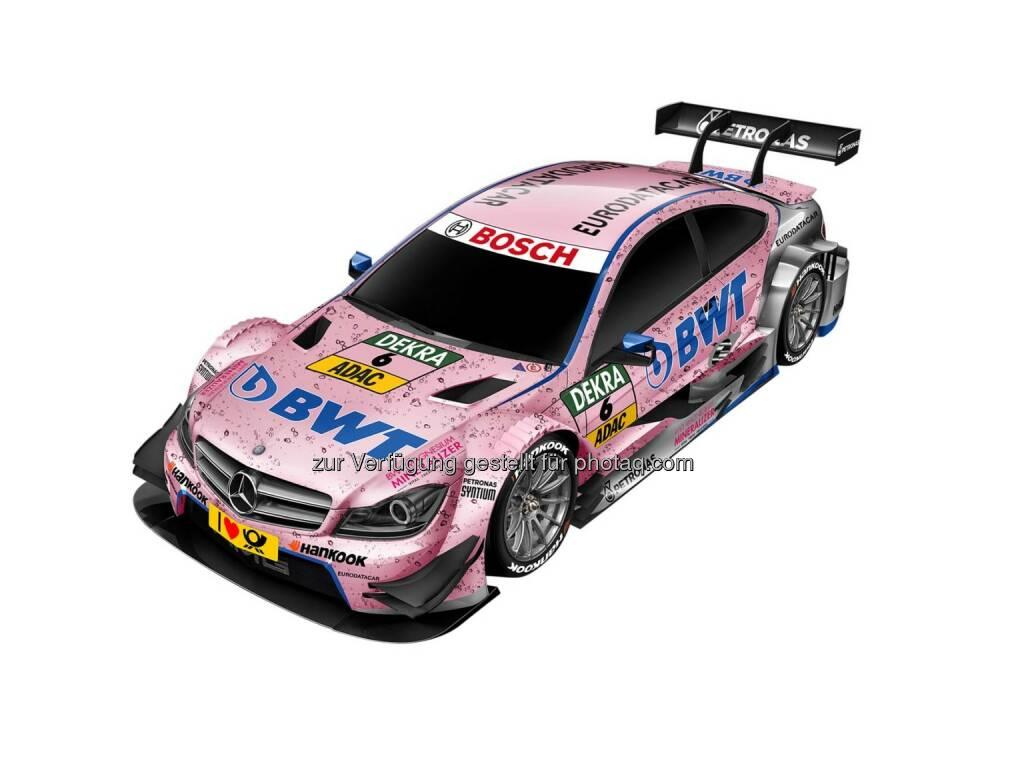 BWT wird neuer Sponsor von DTM Mercedes AMG, © Aussendung (13.04.2015)