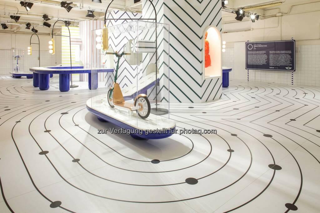 """Jaime Hayon & Mini präsentieren die fantasiereiche Installation """"Urban Perspectives"""". Ab heute zu sehen auf dem Salone del Mobile 2015., © Aussendung (14.04.2015)"""