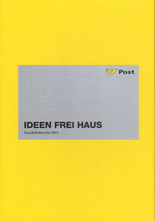 Österreichische Post Geschäftsbericht 2014 - http://boerse-social.com/financebooks/show/osterreichische_post_geschaftsbericht_2014