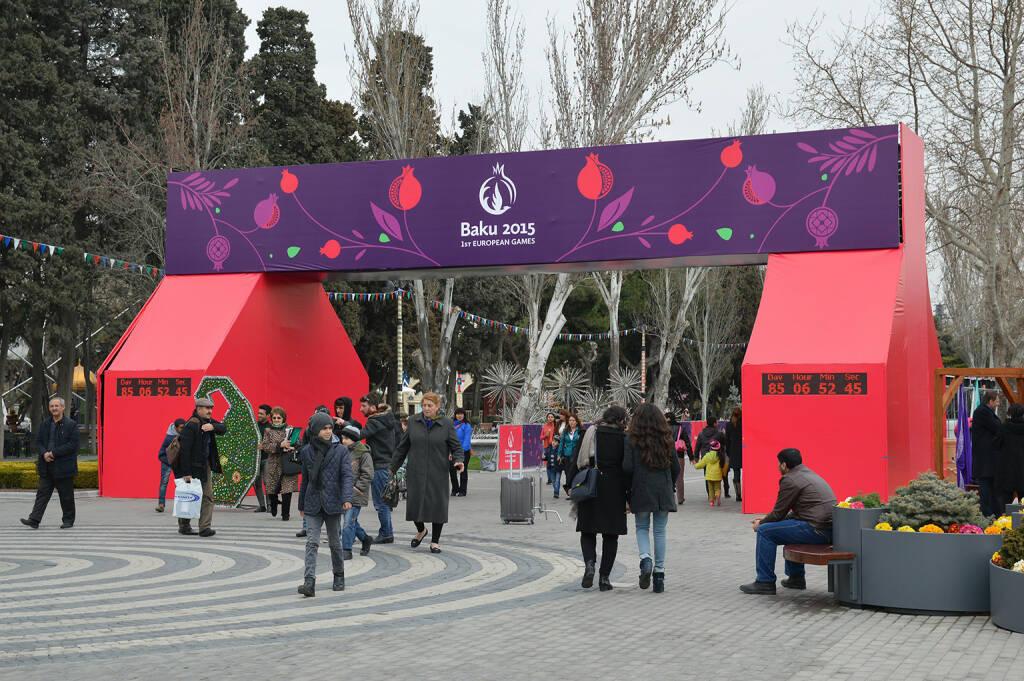 Baku, European Olympic Games 2015 <a href=http://www.shutterstock.com/gallery-2706847p1.html?cr=00&pl=edit-00>Tycson1</a> / <a href=http://www.shutterstock.com/editorial?cr=00&pl=edit-00>Shutterstock.com</a>, © www.shutterstock.com (18.04.2015)