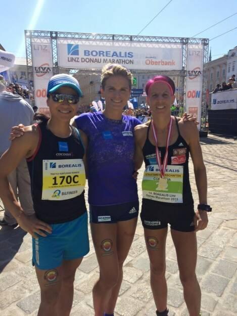 Tristyle Runplugged Runners mit Staffelrekord in Linz (19.04.2015)
