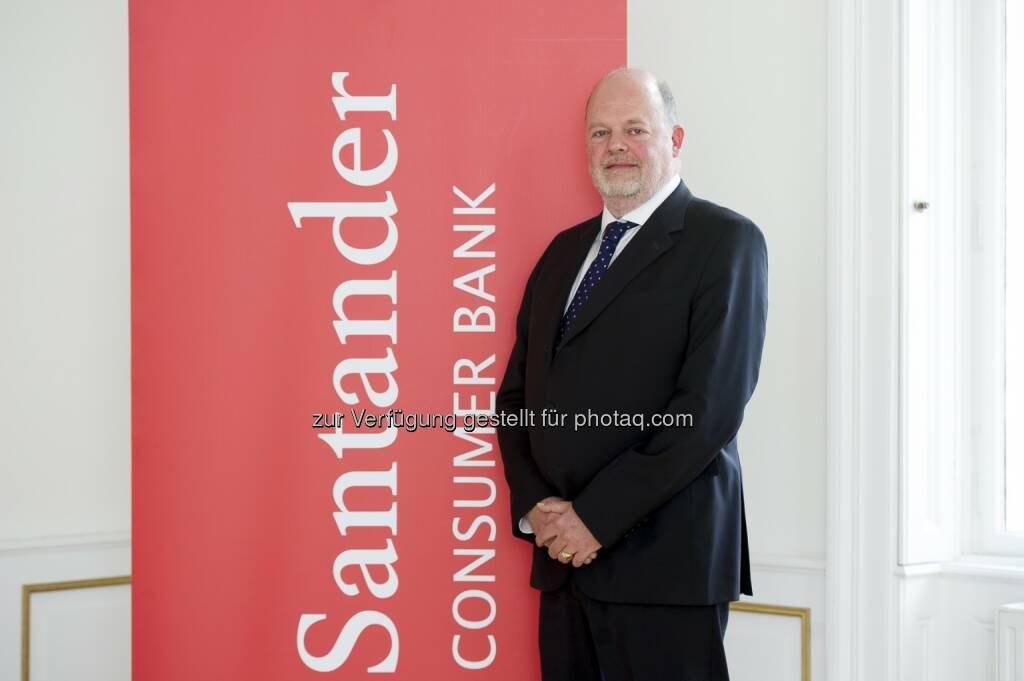 Vorsitzender der Geschäftsführung Olaf Peter Poenisch (Santander Consumer Bank): Geschäftsergebnis 2014: Santander Consumer Bank wächst weiter, © Aussender (21.04.2015)