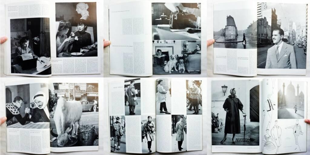magnum – die Zeitschrift für das moderne Leben, Nummer 2, Zeitschriftenverlag Austria International und Magnum 1954, Beispielseiten, sample spreads - http://josefchladek.com/book/magnum_die_zeitschrift_fur_das_moderne_leben_nummer_2_1954_-_die_junge_generation, © (c) josefchladek.com (22.04.2015)