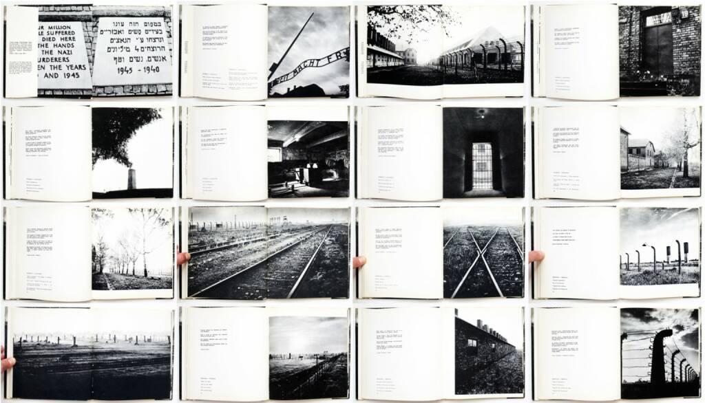 Adam Kaczkowski - Auschwitz - Birkenau, Państwowe Muzeum w Oświęcimiu 1970, Beispielseiten, sample spreads - http://josefchladek.com/book/adam_kaczkowski_-_auschwitz_-_birkenau, © (c) josefchladek.com (24.04.2015)