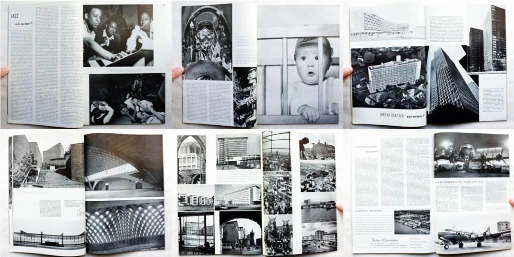 magnum – die Zeitschrift für das moderne Leben, Nummer 3, Zeitschriftenverlag Austria International und Magnum 1954, Beispielseiten, sample spreads - http://josefchladek.com/book/magnum_die_zeitschrift_fur_das_moderne_leben_nummer_3_1954_-_wie_weiter, © (c) josefchladek.com (26.04.2015)