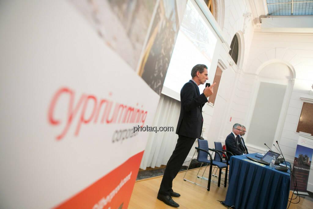 Alain Lambert (Cyprium Mining), © photaq/Martina Draper (27.04.2015)