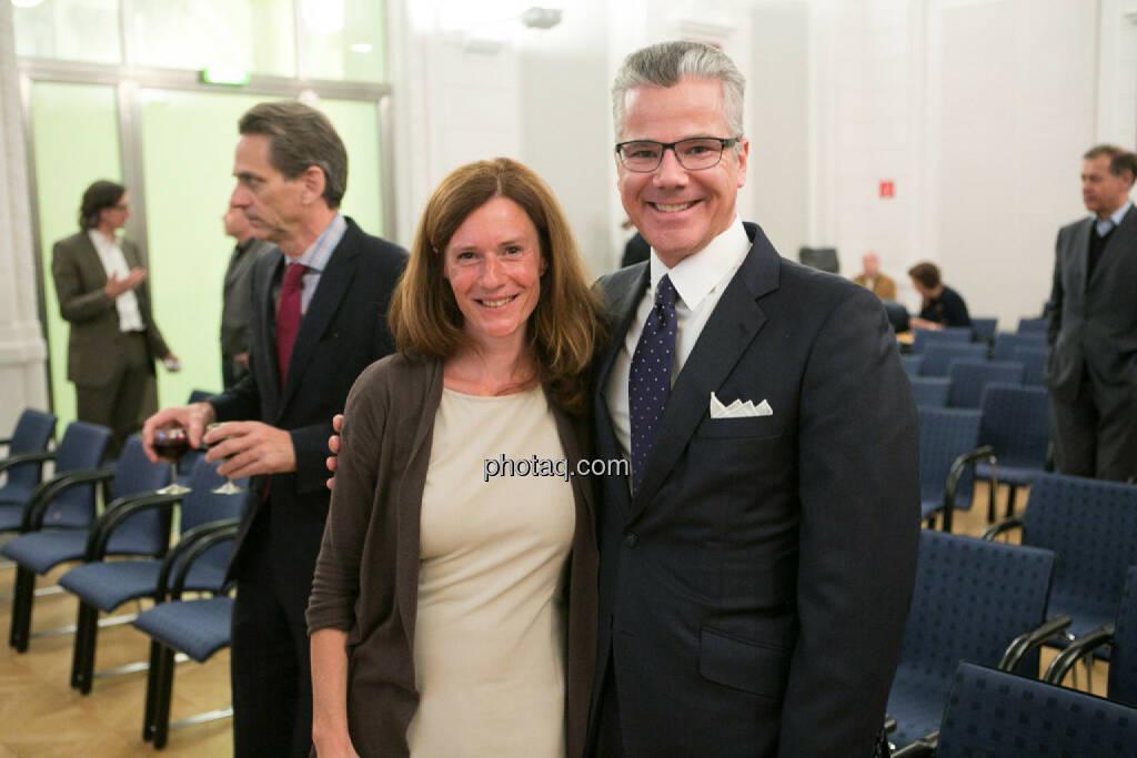 Martina Draper (Börse Social Network), Edward Karr (Strategic Asset), © photaq/Martina Draper (27.04.2015)