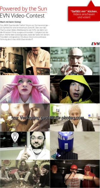 Der EVN-Videocontest auf Facebook (25.02.2013)