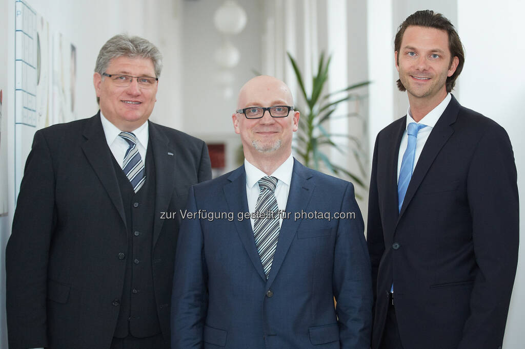 Erwin Risch, Zvonimir Durcevic und Michael Rurländer: Anecon Software Design und Beratung G.m.b.H.: Karriere-News: Drei neue Berater für IT-Dienstleister Anecon, © Aussender (04.05.2015)