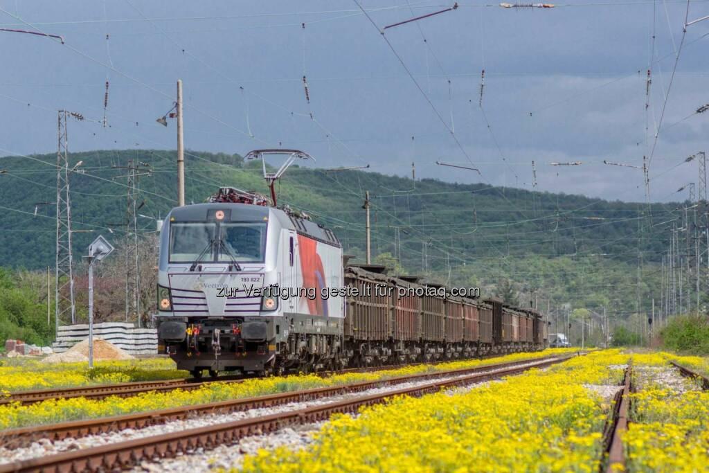 Siemens: Der Vectron absolviert elektromagnetische Tests in Bulgarien. Mit Erreichung der Zulassung könnte die Vectron-Lokfamilie den wichtigen Frachtkorridor zwischen Europa und Asien bedienen., © Aussendung (04.05.2015)