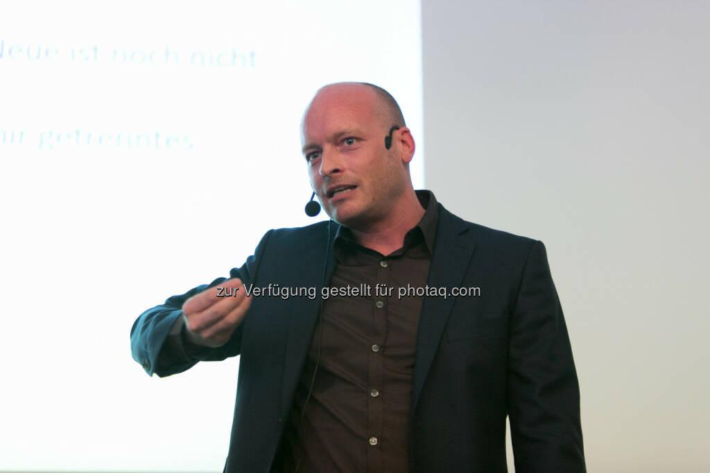 Ronny Hollenstein (Geschäftsführer ic2 concepts & trainings Gmbh), © HR Circle/Martina Draper (05.05.2015)