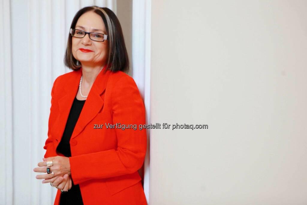 """Brigitte Schaden, Vorstandsvorsitzende pma, über das Thema: """"Als ProjektmanagerIn ist man permanent auch VerkäuferIn., © Aussender (06.05.2015)"""