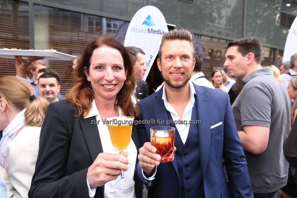 Susanne Koll, Mark Philipp Wondra, © AboutMedia (06.05.2015)