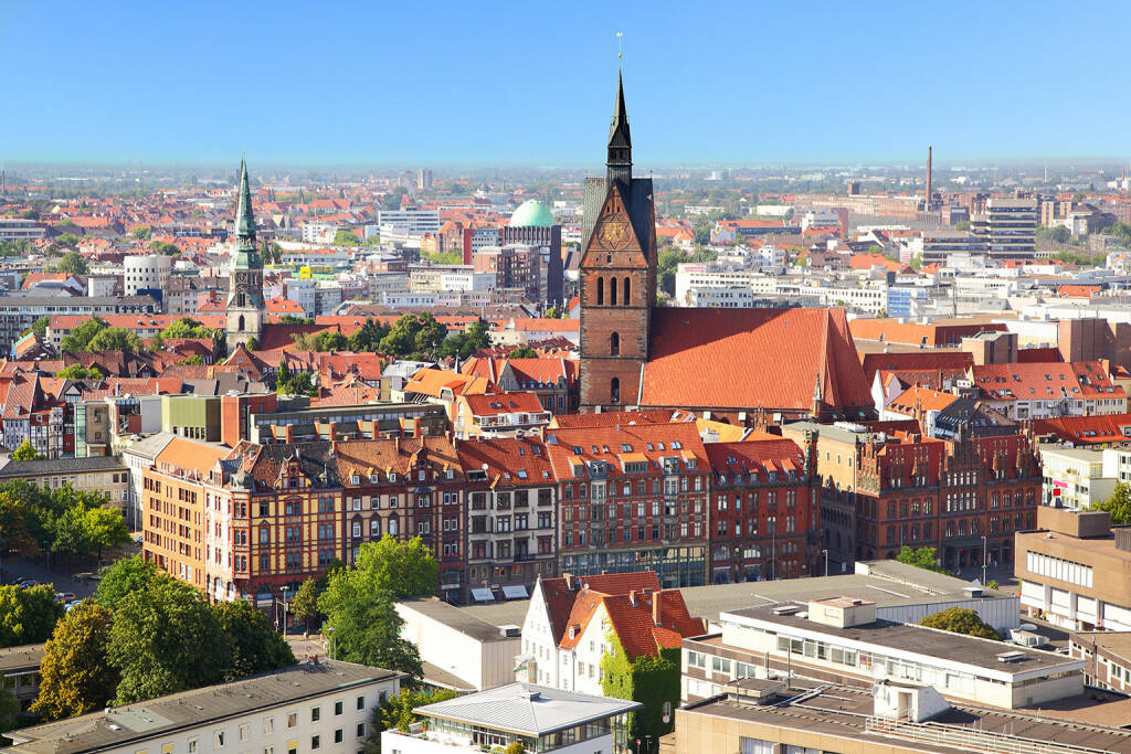 Hannover, Stadt-Zentrum, http://www.shutterstock.com/pic-112302332/stock-photo-panoramic-view-of-hanover-city-germany.html, © www.shutterstock.com (06.05.2015)