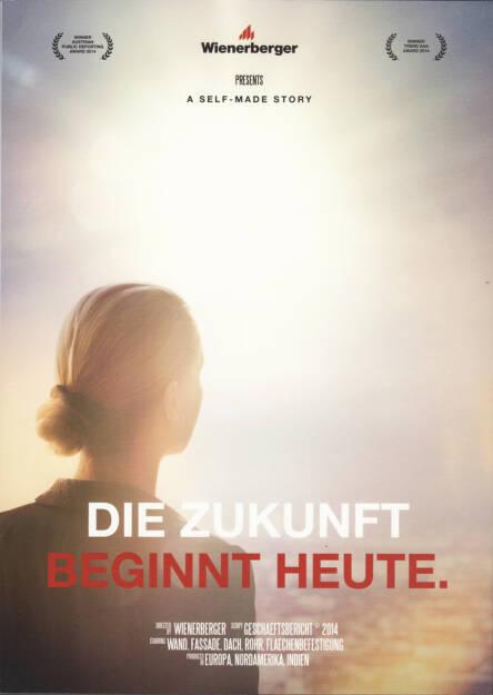 Wienerberger Geschäftsbericht 2014 - http://boerse-social.com/financebooks/show/wienerberger_geschaftsbericht_2014 (07.05.2015)