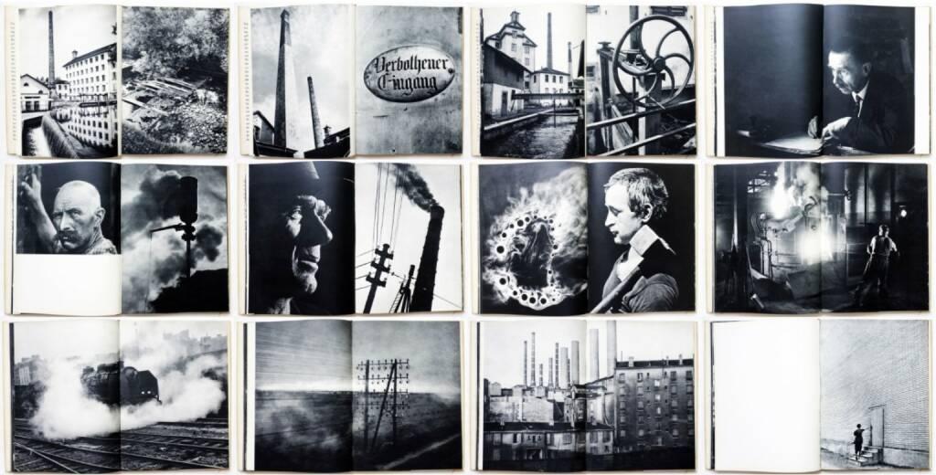 Jakob Tuggener - Fabrik, Rotapfel Verlag 1943, Beispielseiten, sample spreads - http://josefchladek.com/book/jakob_tuggener_-_fabrik, © (c) josefchladek.com (09.05.2015)