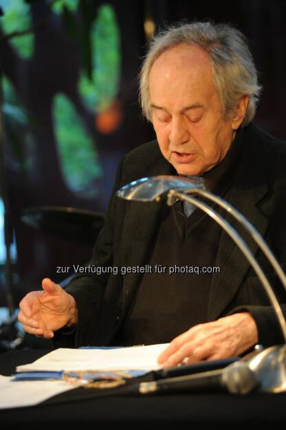 Otto Schenk liest im Glacis Beisl: Glacis Beisl: Glacis Beisl im MuseumsQuartier feiert 10-Jahre-Jubiläum, © Aussendung (11.05.2015)