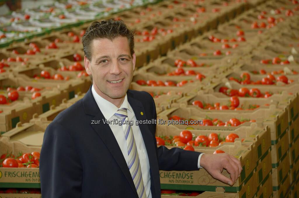 Michael Wehofer , LGV - Frischgemüse Vorstand ab Juli: LGV-Frischgemüse Wien reg. Gen. m.b.H.: LGV-Frischgemüse: Mit neuem Team in die Zukunft, © Aussender (14.05.2015)