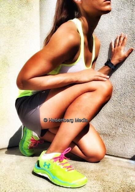 Monika Kalbacher, neue Laufschuhe, neue Motivation, , © Diverse  (17.05.2015)