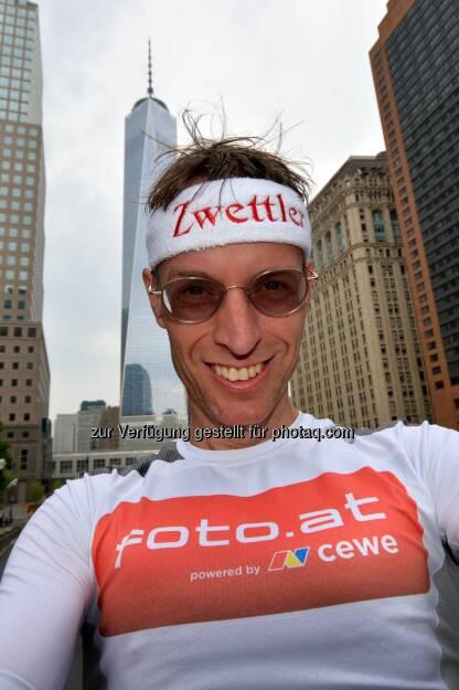 Ralf Majcen: Platz 3 bei Treppenlauf im One World Trade Centre in New York, © Aussendung (17.05.2015)