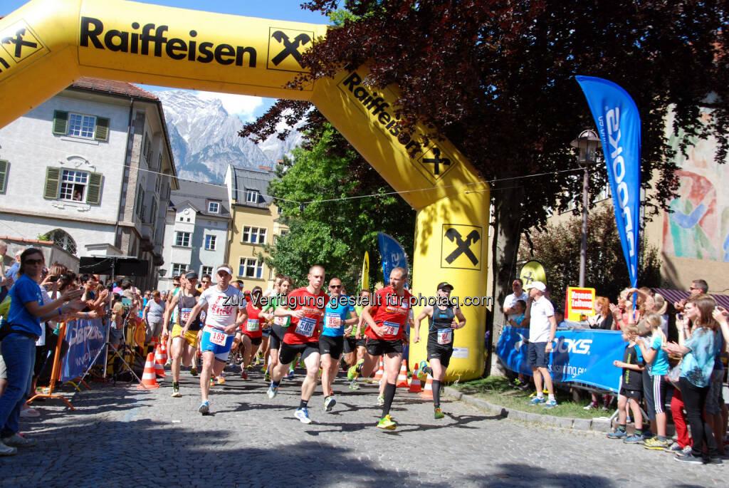 9. Raiffeisen Halbmarathon Hall-Wattens am Samstag, 23. Mai 2015, © Aussendung (18.05.2015)