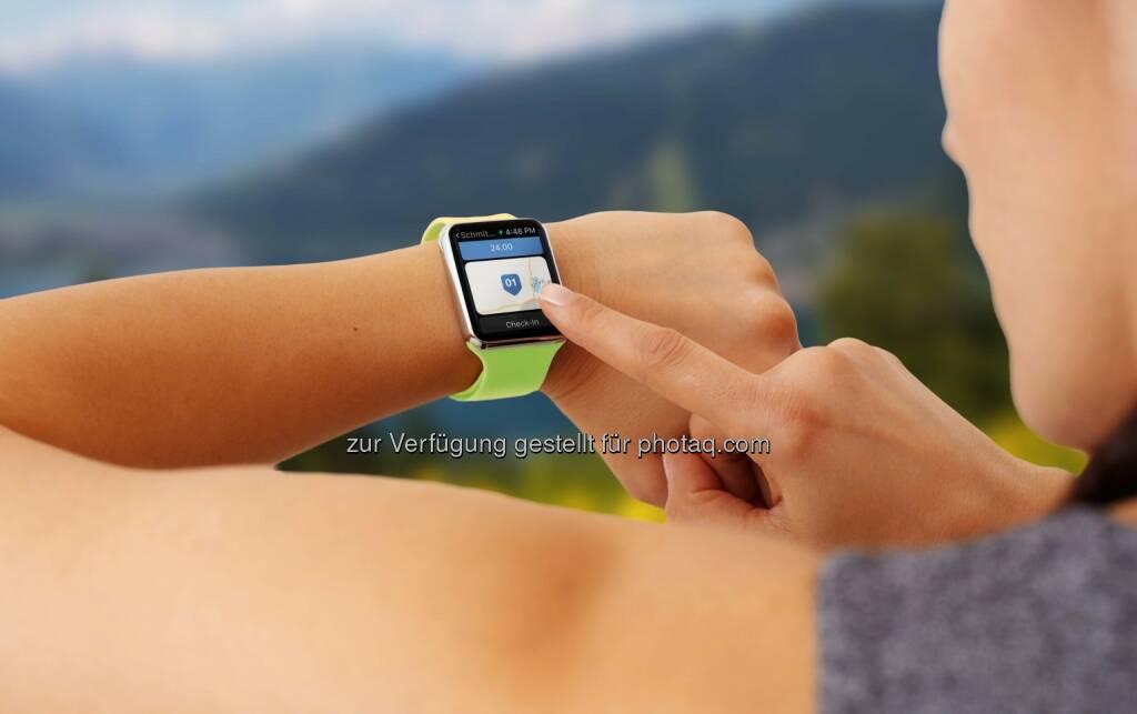 Zell am See-Kaprun: Auf dem digitalen Vormarsch: Zell am See-Kaprun ist erste Destination mit eigener Apple-Watch App, © Aussendung (18.05.2015)
