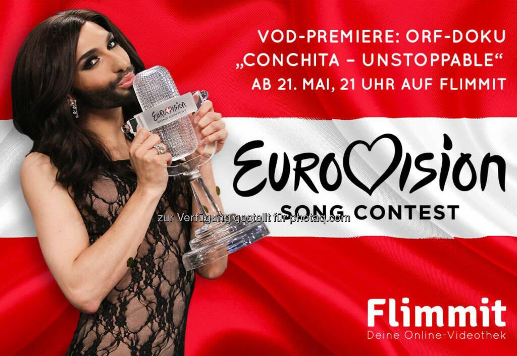 Conchita Wurst-Dokus zum Song Contest auf Flimmit, © Aussender (21.05.2015)