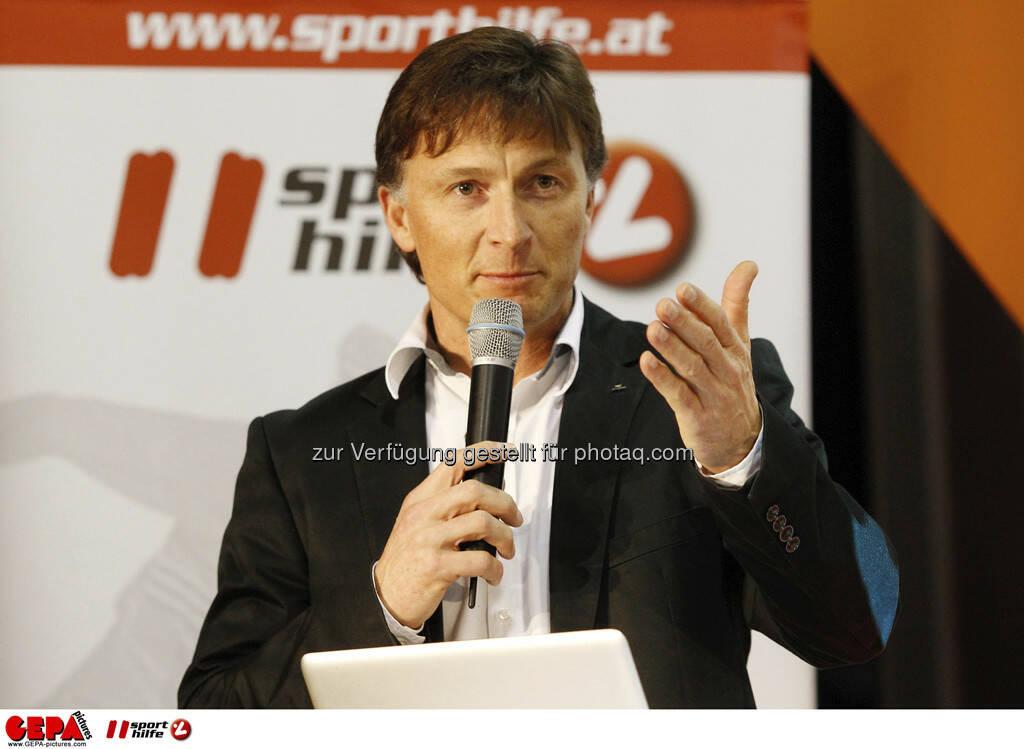 Gernot Kellermayr (Praesident des VSSOE). Foto: GEPA pictures/ Mathias Mandl, © GEPA/Sporthilfe (28.02.2013)
