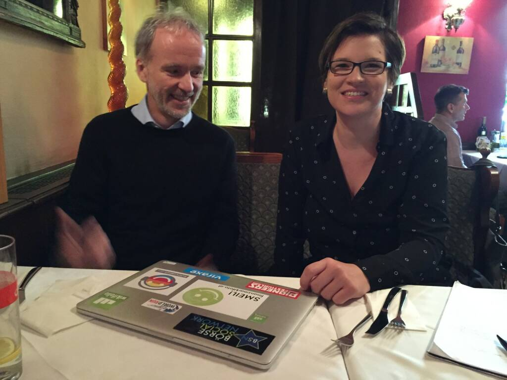 Mit Barbara Suchanek die Brands besprechen (27.05.2015)