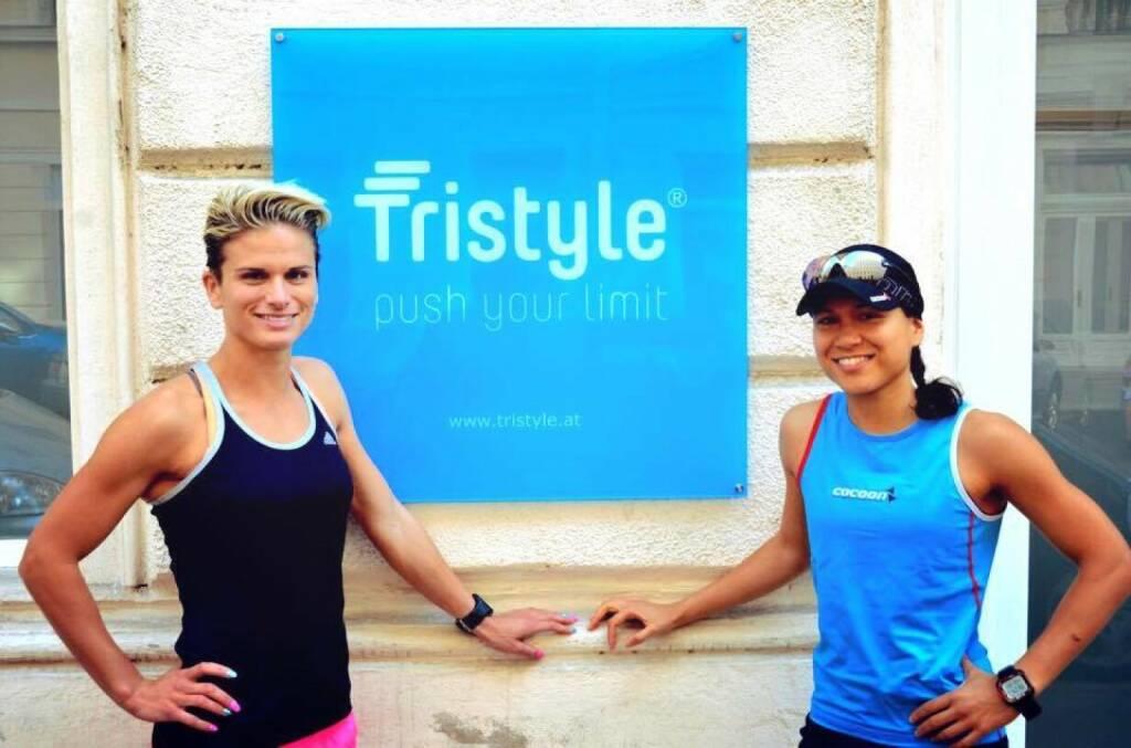 Tristyle Selfie Challenge: Elisabeth Niedereder, Annabelle-Mary Konczer (27.05.2015)