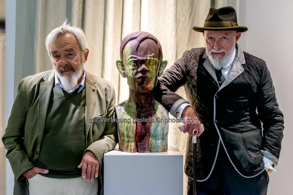 Markus Lüpertz, Arnulf Rainer bildende Kuns:  Eröffnung heute im Arnulf Rainer Museum, © Aussendung (28.05.2015)