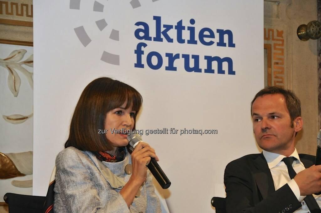 Birgit Kuras (Wiener Börse), Franz Schellhorn (Die Presse) (15.12.2012)