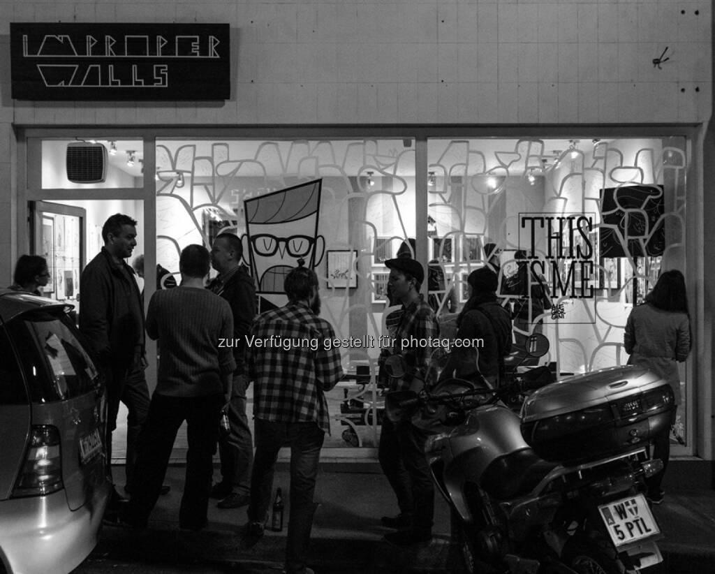 nextSalesroom: Pop-Up Stores – ein Wiener Start Up verändert den Handel, (C) improper walls, © Aussender (01.06.2015)
