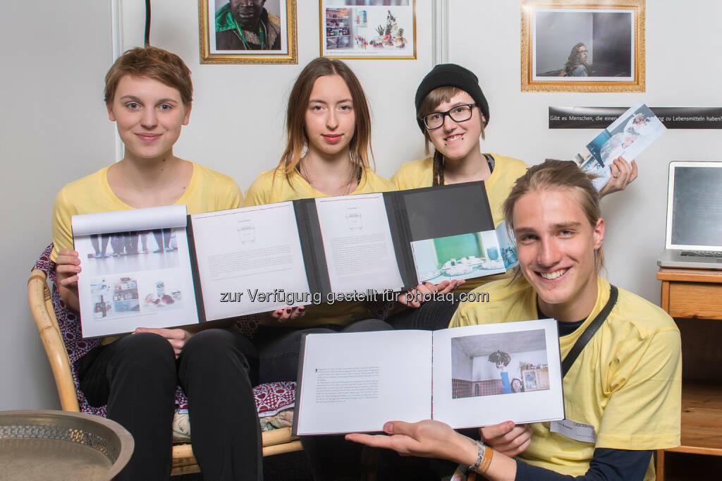 Raiffeisen Klimaschutz-Initiative: Nachwuchsforscher-Team mit Sustainability Award bei Jugend Innovativ ausgezeichnet (aws / Voglhuber), © Aussender (07.06.2015)