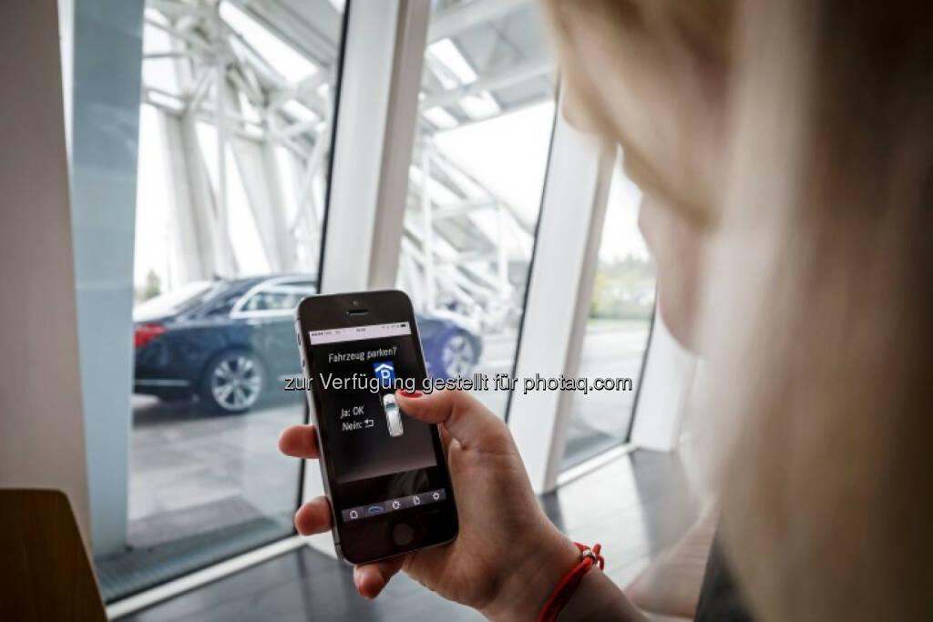 Daimler und Bosch starten Pilotprojekt zum automatisierten Parken im Parkhaus., © Aussendung (09.06.2015)