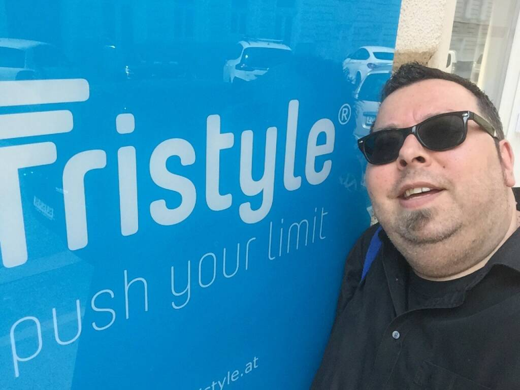 Tristyle Selfie Challenge: Thomas Netopilik (09.06.2015)